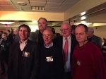 Hockey Old Timers, Alan Nathan, Jeff Cohen, Barry MacCarthy, Kevin Fleming and Ray Plagge.